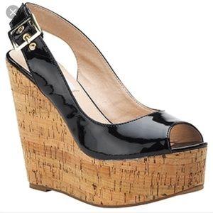 Steve Madden Wissper Wedge Shoe. Size 9